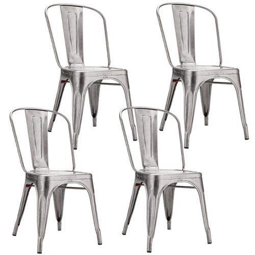 16 best Kitchen Chairs -- Silver images on Pinterest | Kitchen ...