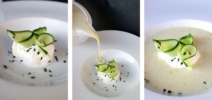 Hideg uborkakrémleves Julia Child konyhájából - Potage aux concombres