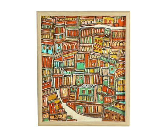 """Картина """"Городской пейзаж - 2013"""", художник Русудан Хантадзе-Андроникашвили (Грузия, Тбилиси)"""