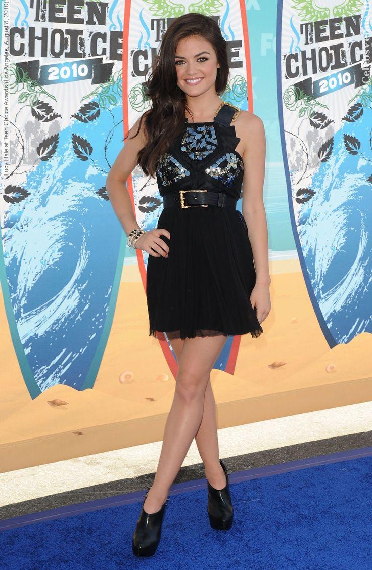 Lucy Hale Teen Choice Awards 2010 <3