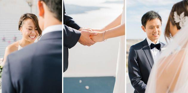 Intimate Weddings Santorini | Santorini Wedding by Stella and Moscha - Exclusive Greek Island Weddings | Photo by Anna Roussos | www.stellaandmoscha.com