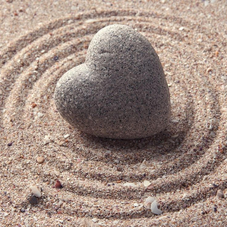 Zen garden sand texture