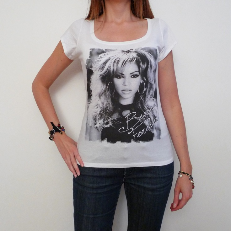 One in the City - Beyonce t-shirt Short-Sleeve Top celebrity, $14.99 (http://www.oneinthecity.com/beyonce-t-shirt-short-sleeve-top-celebrity/)