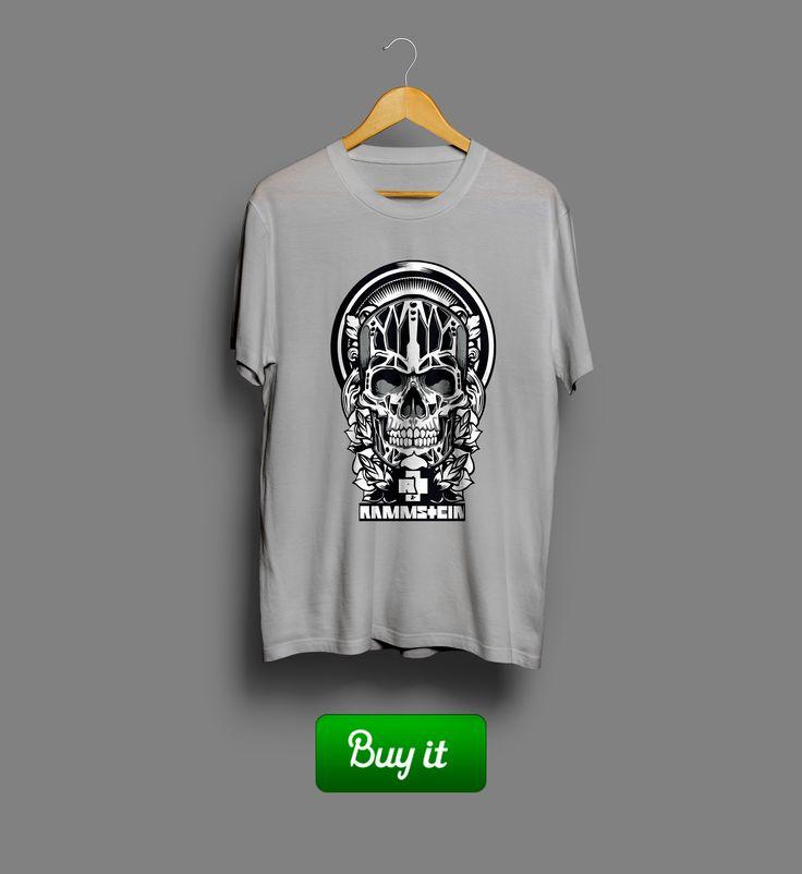 Skull Rammstein   #Rammstein #Рамштайн #Тилль #Линдеманн #Till #Lindemann #Рихард #Круспе #Richard #Kruspe #Paul #Landers #Пауль #Ландерс #Oliver #Riedel #Оливер #Ридель #Кристоф #Шнайдер #Christoph #Schneider #Rosenrot #футболка #tshirt