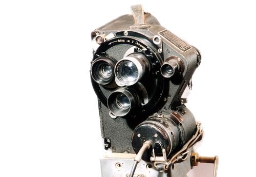 Askania-Schulter  35 mm-Filmkamera um 1937  Bamberg-Werk, Berlin