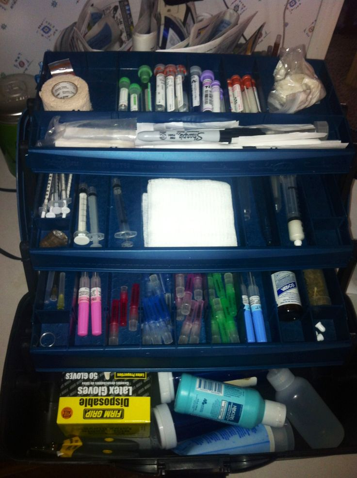 vet tech box :) I need one of these stat!
