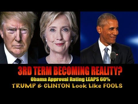 OBAMA Approval Rating LEAPS UP! Trump & Hillary Setup as FAILURES for US...