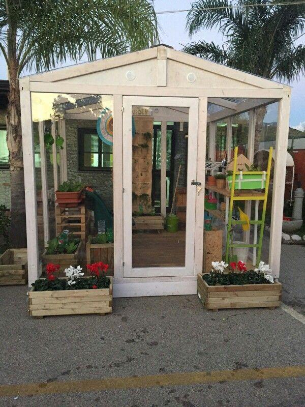 Greenhouse wood