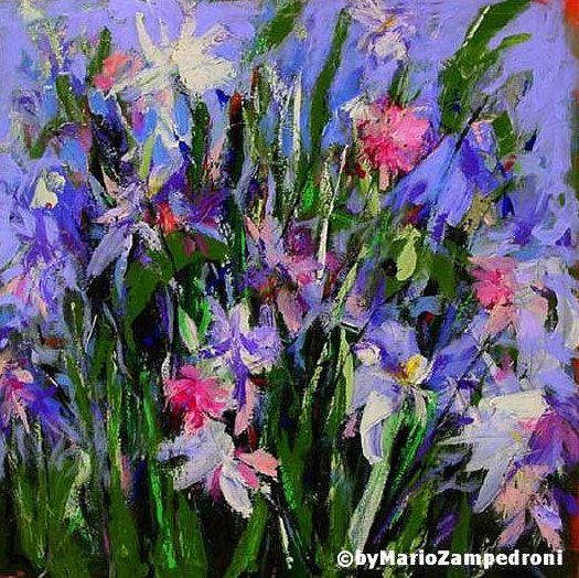 Famous Purple Flower Painting Wwwpixsharkcom Images