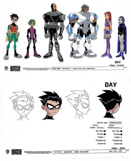 Teen Titans Character Models - Derrick Wyatt