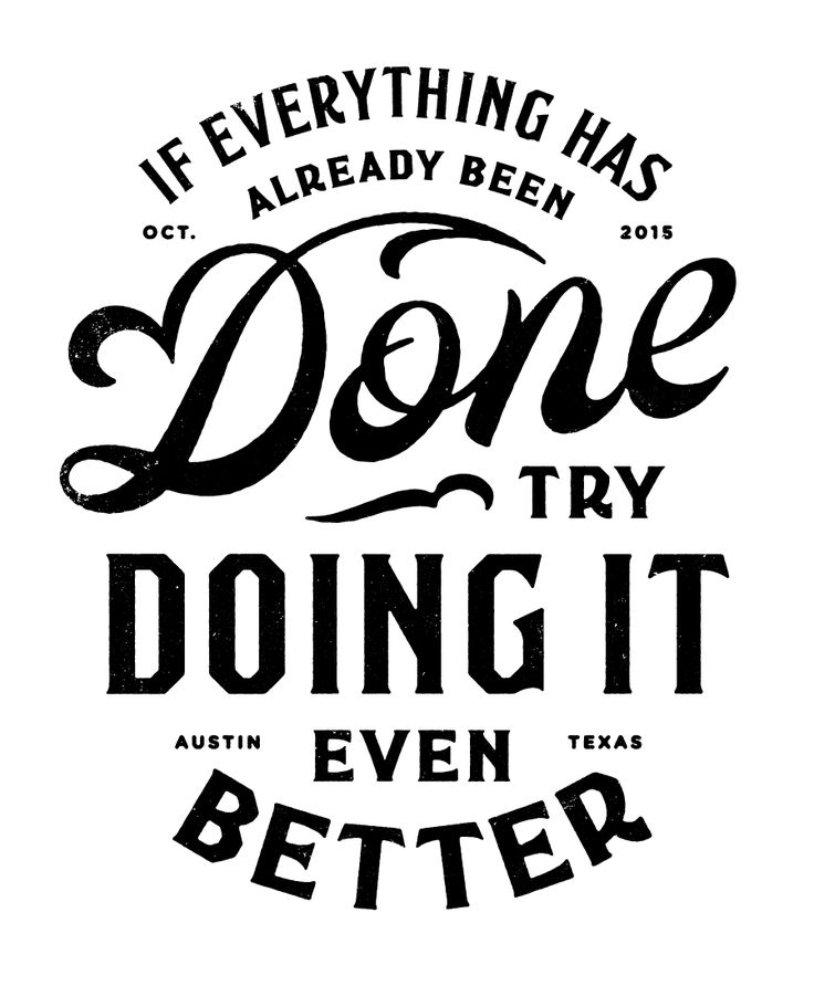 Typeverything.com - Try Doing it Better by Simon Walker