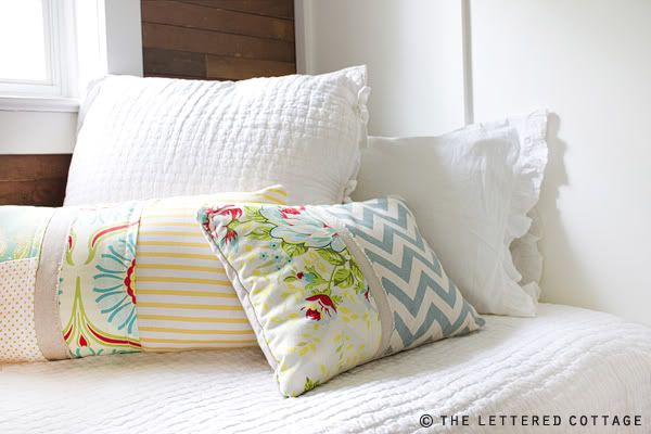 How To Make Pillows | The Lettered Cottage