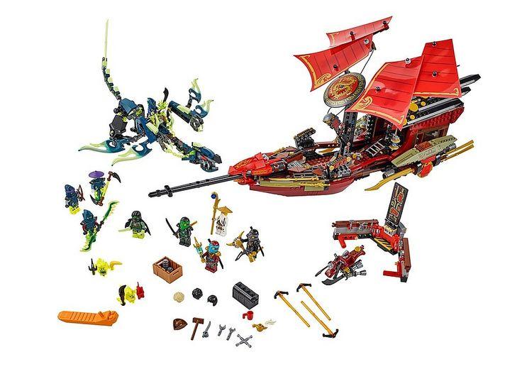 LEGO 70738 Ninjago Laatste vlucht van de Destiny's Bounty? Bestel nu bij…