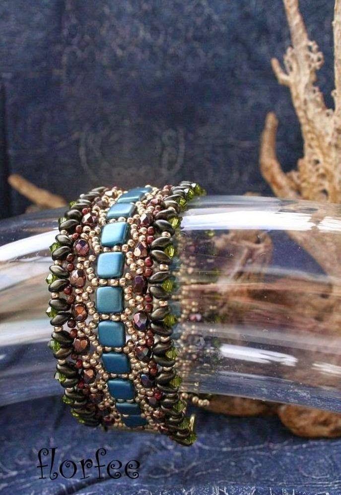 florfee: *Honeycomb Bracelet*