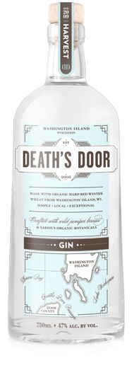 My buddy Ben lives on an island in Lake Michigan where they organically grow all the ingredients for this gin.  It single-handedly brought profitable agriculture back to the island.