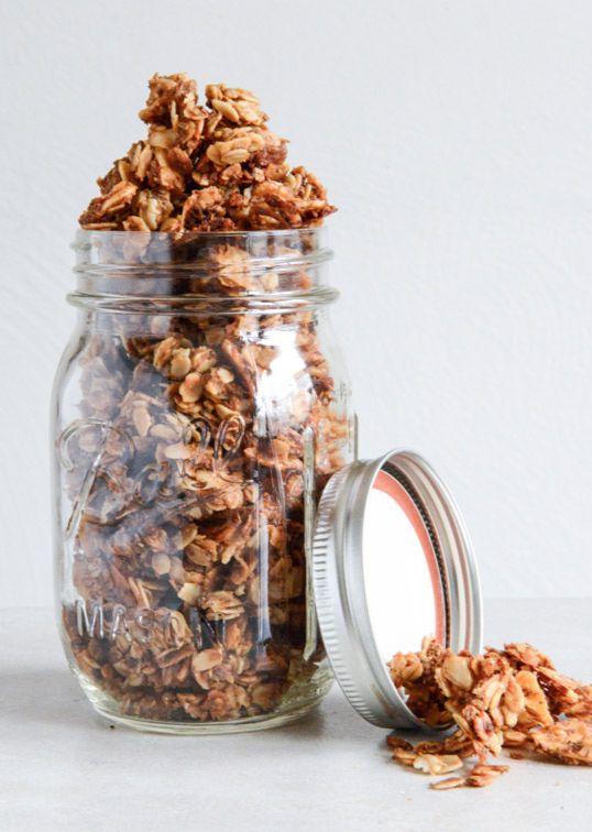 Coconut Butter Granola | howsweeteats.com