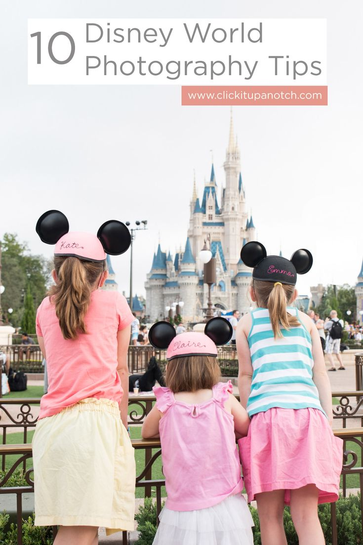 Heading to Disney World? This is a must-read list of photography tips for Disney World. Have fun capturing your vacation!