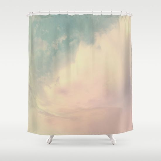 Dream higher than the sky Shower Curtain