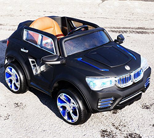 NEW BMW X-5 STYLE CAR WITH REMOTE CONTROL AND LEATHER SEAT POWER WHEEL