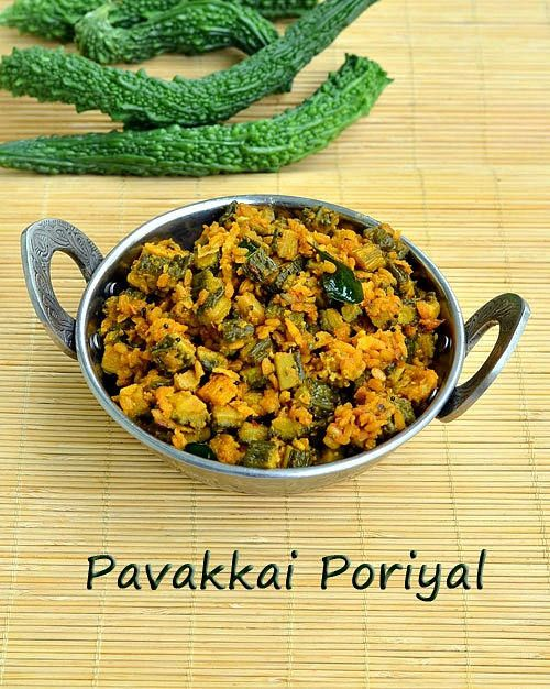 87 best tamil nadu recipe images on pinterest indian food bitter gourd frypavakkai poriyal forumfinder Image collections