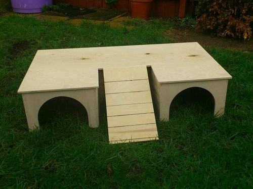 LARGE PLAY TUNNEL/SHELTER FOR GUINEA PIG/ RABBIT(FITS MOST RUNS) | eBay