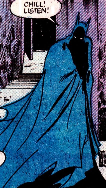 Batman in Detective Comics #577 (Aug. 1987) - Todd McFarlane (pencils), Alfredo Alcala (inks) & Adrienne Roy (colors)