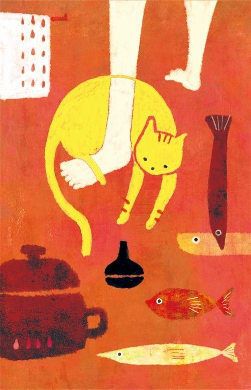 Print by mozneko - illustrator from Sapporo-shi, Japan