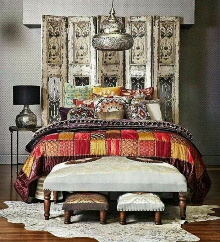 Indian Bedroom, Indian Style Bedrooms And Moroccan