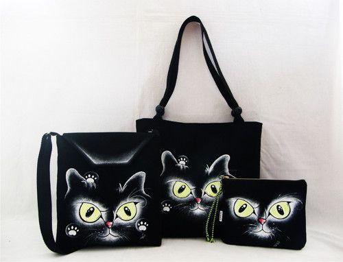 kočičí oči-taška+crossbody+kapsička