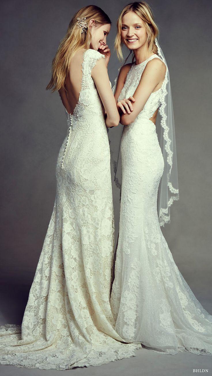 Bhldn bohemian beauty bridal lookbook lace wedding for Backless bohemian wedding dress