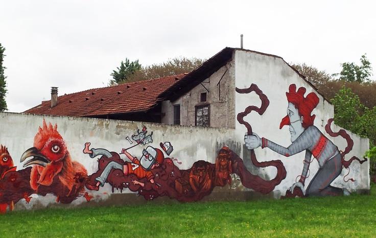 Street Art Graffiti, Milano Niguarda. MilanoArte not just tour guides but art lovers!