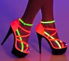 Light the way in these killer heels!