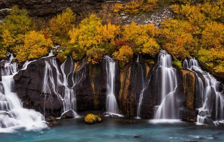 Colors at the waterfall  Photo by damon beckford — National Geographic Your Shot