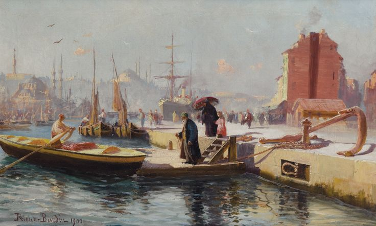 Alexis Arts Paintings Of Istanbul