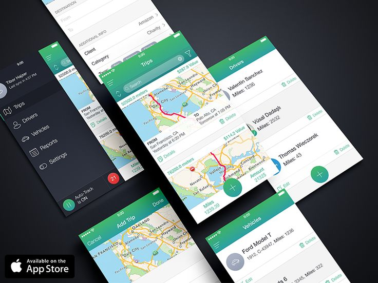 MileWiz (Available on the App Store)