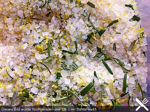 Zitronen - Rosmarin - Salz