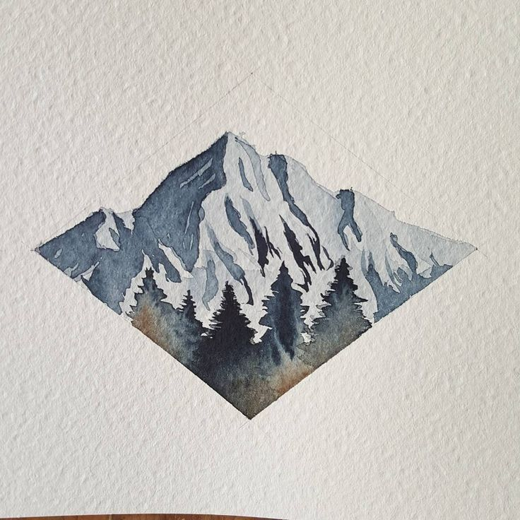 """2,400 Likes, 11 Comments - Sarah Hernandez (@lostswissmiss) on Instagram: """"Little minimalist mountain range. I feel the beginning of a cold  Sore throat and all = 0 energy…"""""""