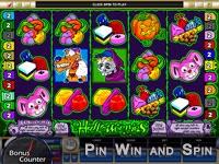 PinWinSpin with Bonus Counter | Halloweenies Slot Game