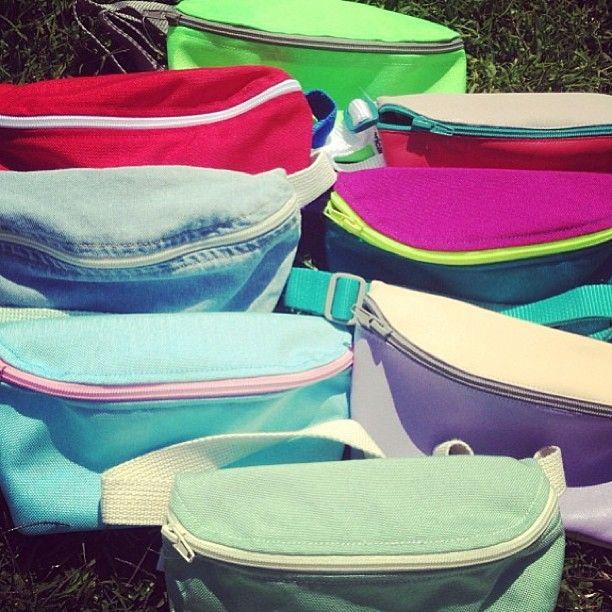 Fanny Packs are back for summer! #madeinusa #sweatshopfree #fannypacks