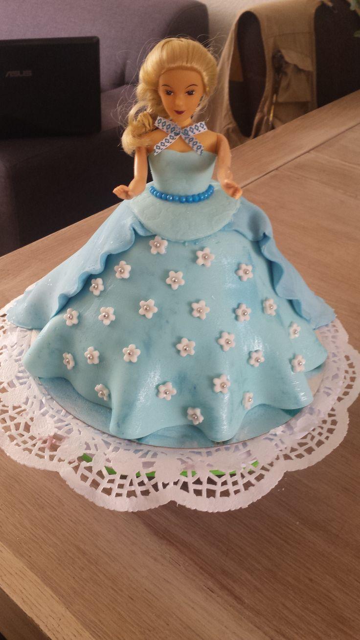 Elza Frozen taart