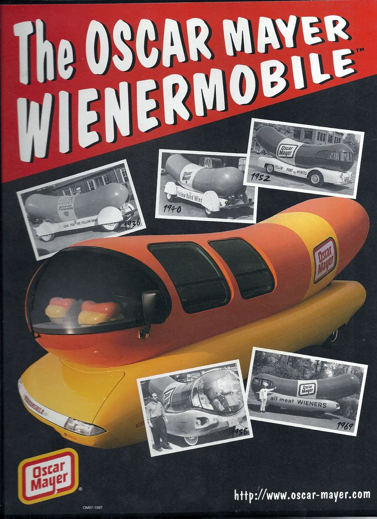 Oscar Mayer Wienermobile Tools Through San Diego moreover  additionally Camion Pizza additionally Wienermobile Fun Facts besides 298. on coolest wienermobile