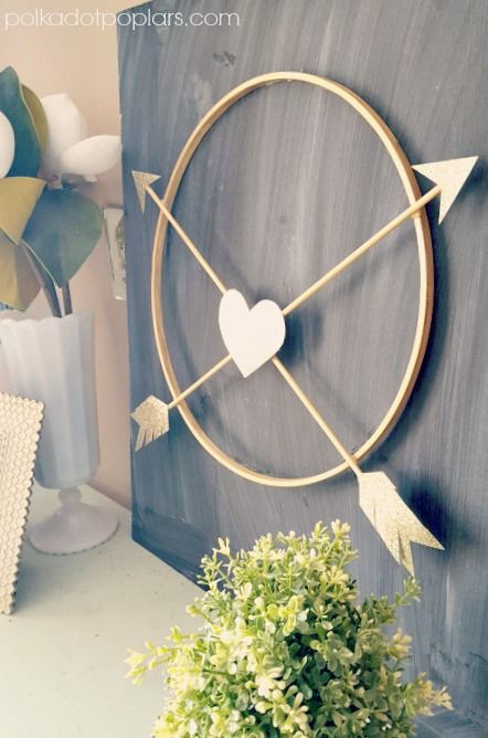 Wow! Love this! Arrow Wreath in 15 Minutes!