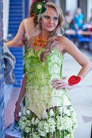 В Минске прошел конкурс «Дефиле цветочное платье» на тему «Альтернативная свадьба»