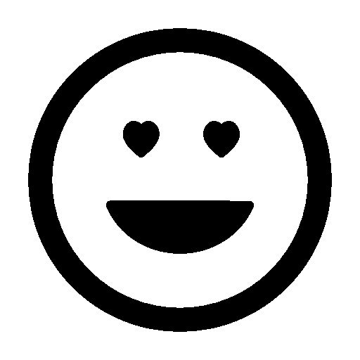 Happy emoticon smiling square free icon