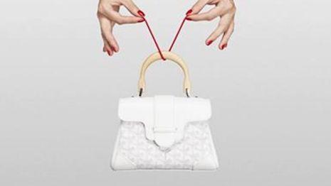 Goyard creates illusions to inaugurate updated handbag designs