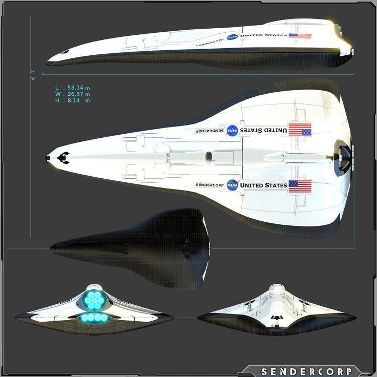 sci fi space shuttle craft - photo #36