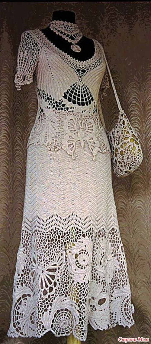 This link doesn't work, but there is a lot of inspiration for crochet work just looking at the photo!