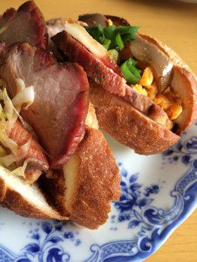 ランチ♡焼豚サンドイッチ by アンパン母さん [クックパッド] 簡単 ...