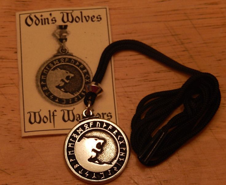 Megan's Necklace, the symbol of her pack from her father the alpha (ODIN Wolves Necklace Pendant Norse Viking Yin Yang Amulet Wolf Warrior Talisman)