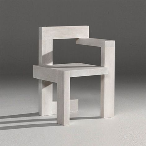 scandinaviancollectors: The Steltman Chair by Gerrit Rietveld, 1963 for Steltman Jewellery House, The Hague. / Architonic